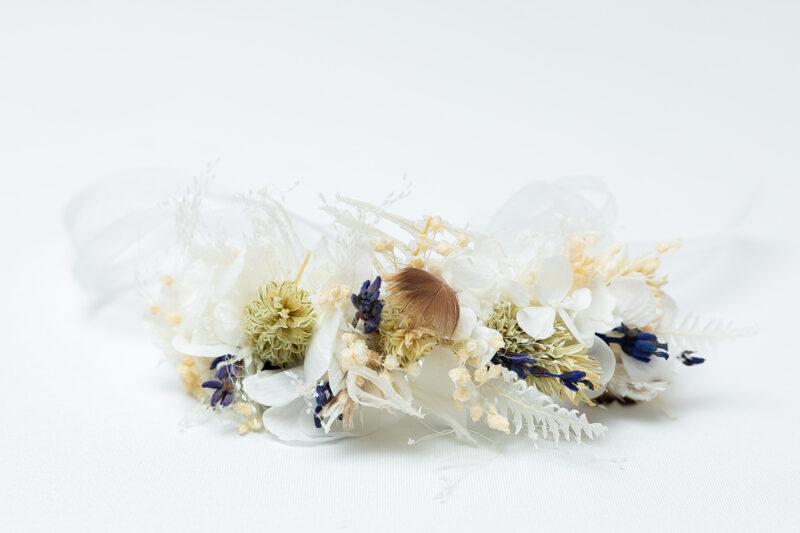 Flower Armband aus echten Blumen für die Brautjungfer