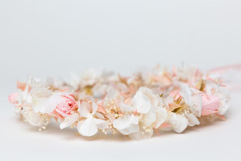 blumenschmuck rosa weiß blumen