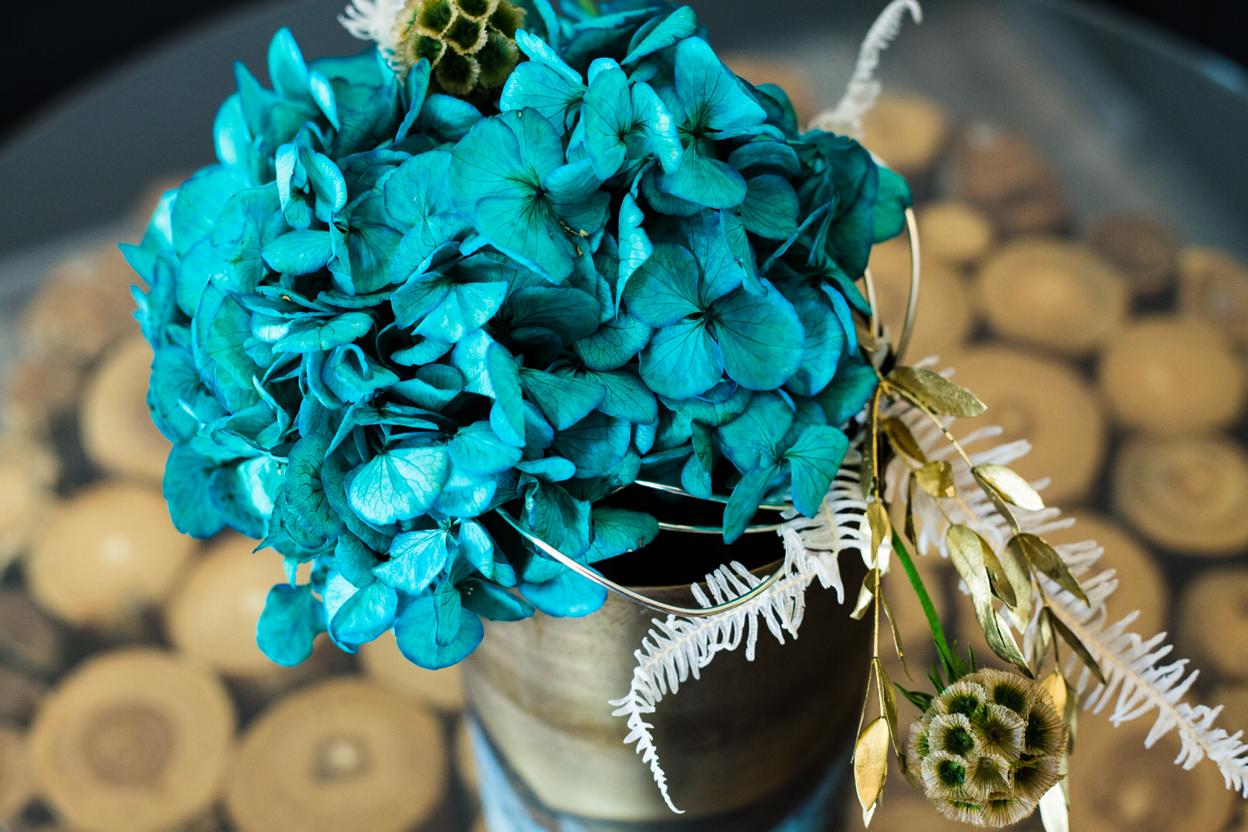 einzigartige Blumendeko