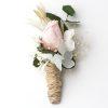 echter, dauerhafter Blumenanstecker Hochzeit