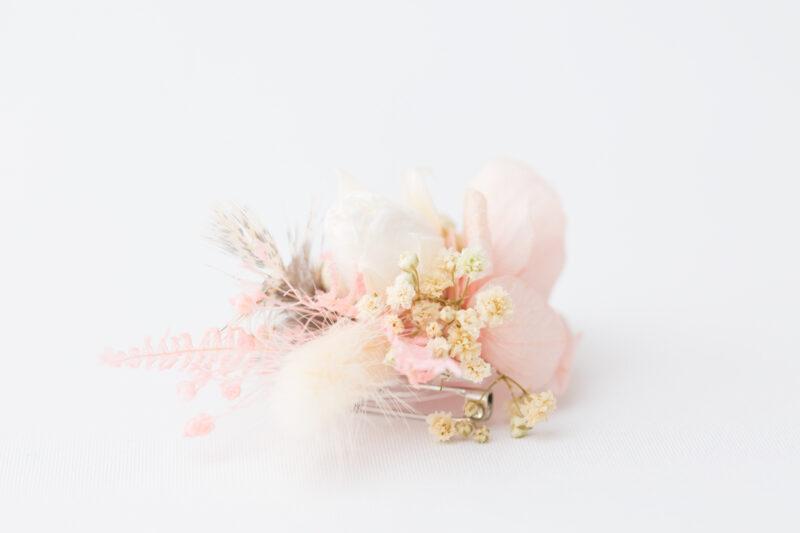 Trauzeugengeschenk Anstecker aus Blumen