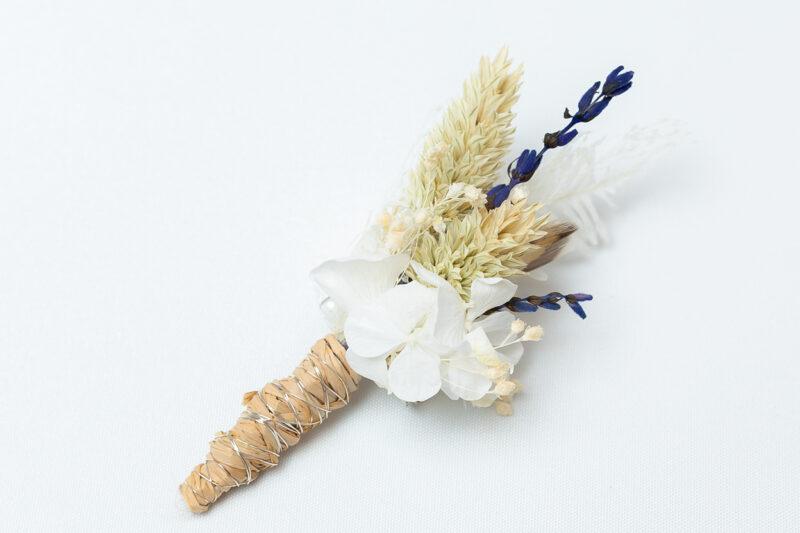 Bräutigam Anstecker Blumen